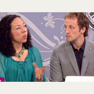 LORRAINE With Oona King 22-06-11