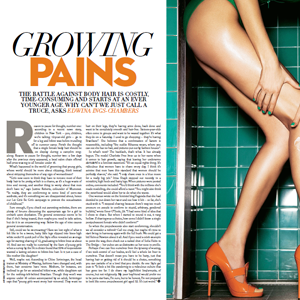 Sunday Times Style – Waxing